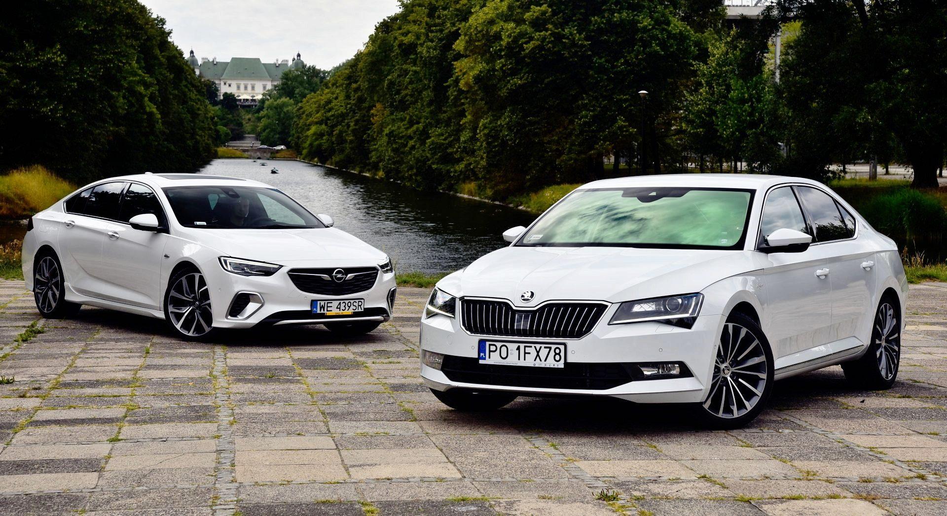 Porównanie Opel Insignia GSi Skoda Superb 2.0 TSI