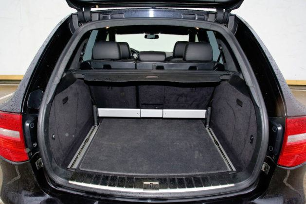 Porsche Cayenne - bagażnik