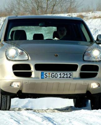 Porsche Cayenne - dynamiczne