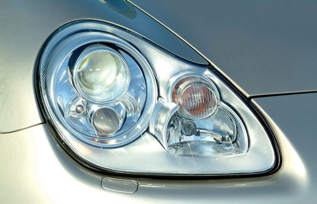 Porsche Cayenne - lampa