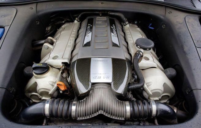 Porsche Cayenne - silnik 4.8