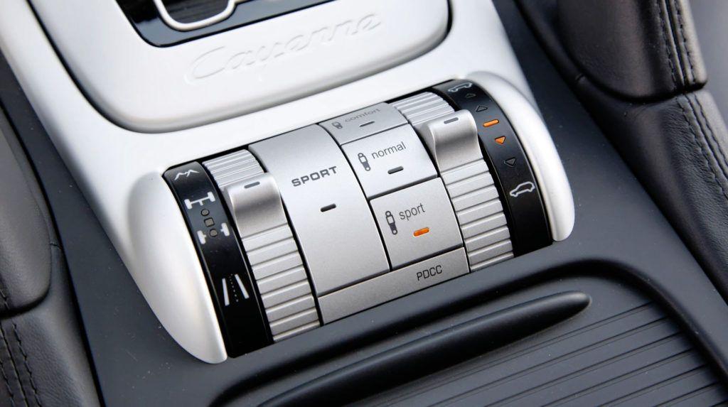 Porsche Cayenne - tryby pracy