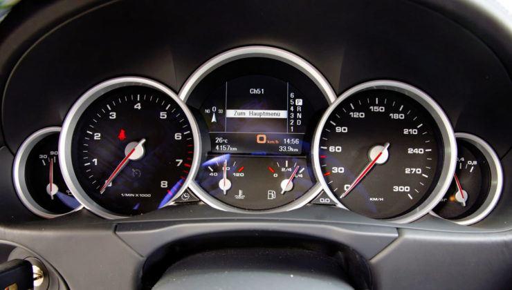 Porsche Cayenne - zegary