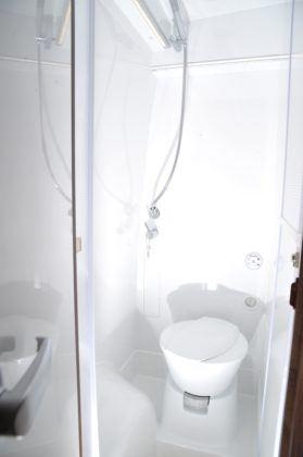 Prysznic w kamperze
