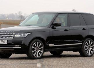 Range Rover - dane techniczne