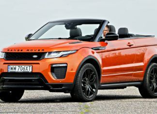 Range Rover Evoque - dane techniczne