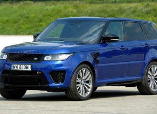 Range Rover Sport - dane techniczne