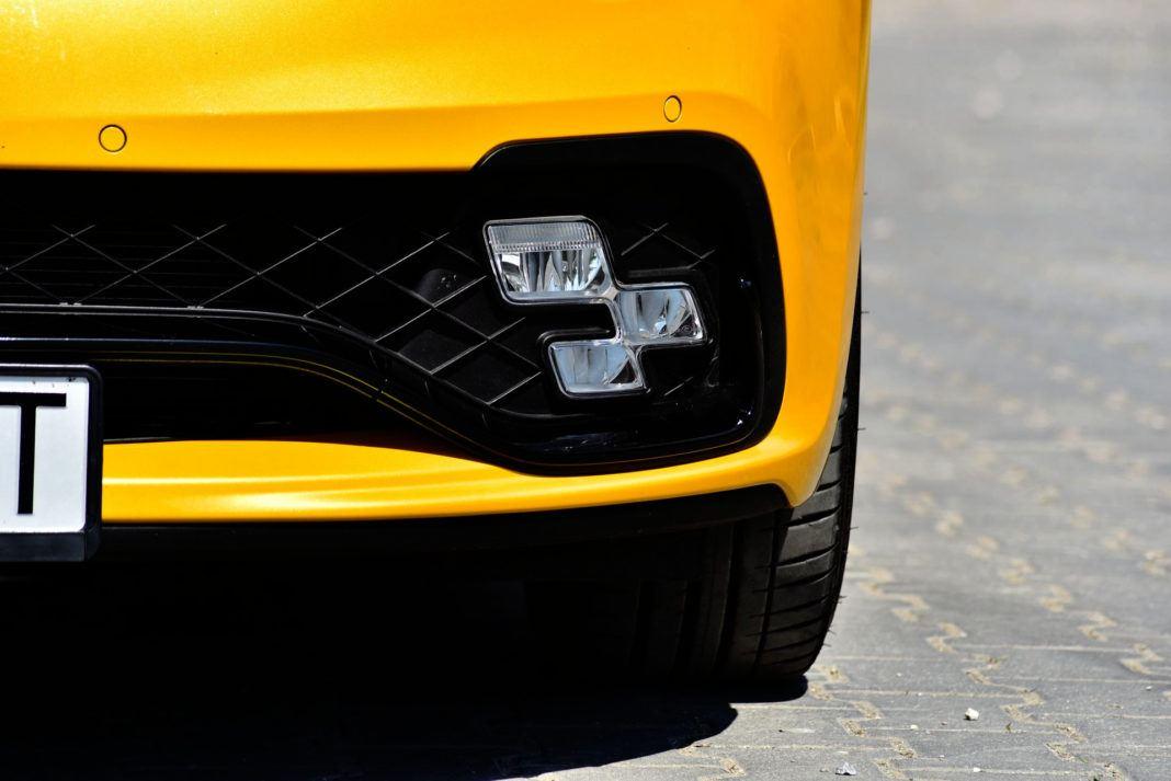Renault Clio R.S. - światło