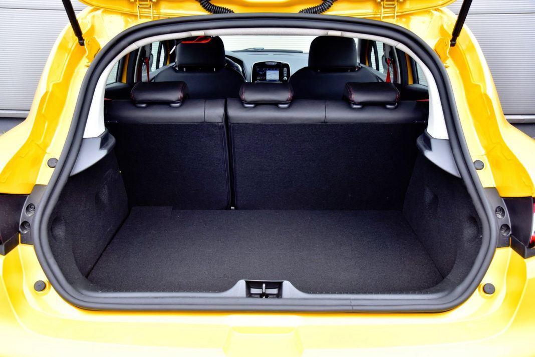 Renault Clio R.S. - bagażnik