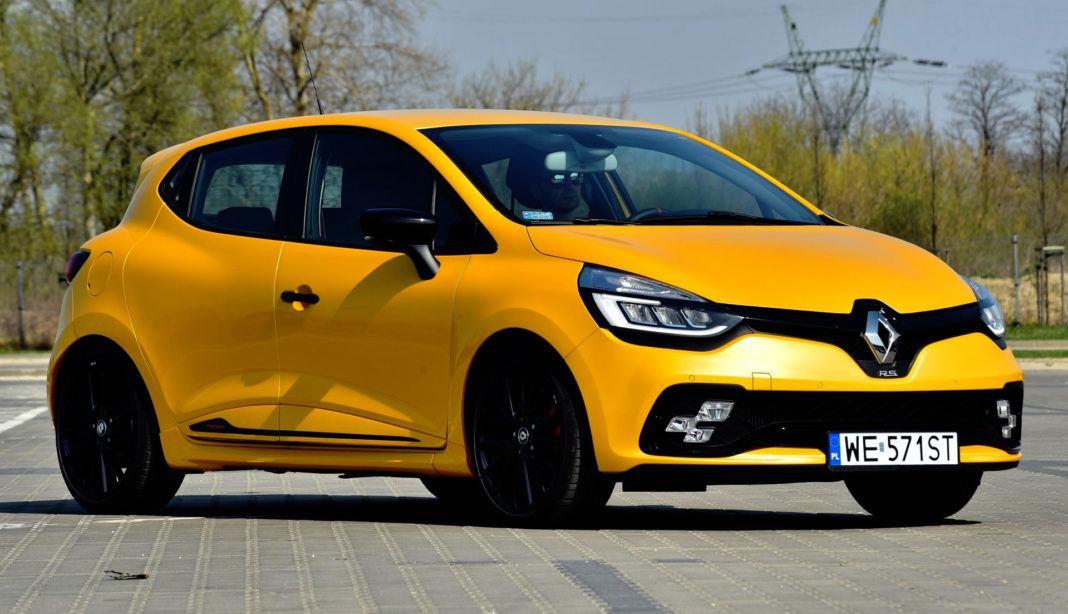 Renault Clio R.S. - przód