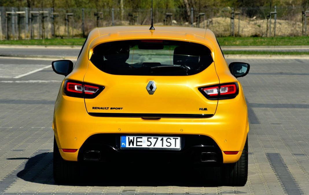 Renault Clio R.S. - tył