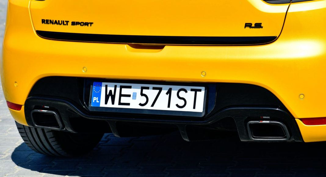 Renault Clio R.S. - wydech