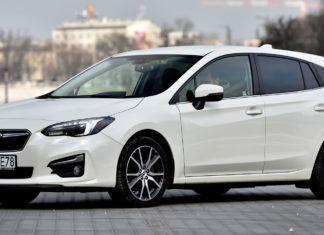 Subaru Impreza - dane techniczne