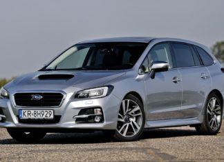 Subaru Levorg - dane techniczne