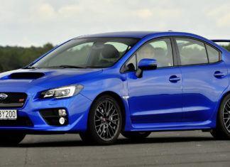 Subaru WRX STi - dane techniczne