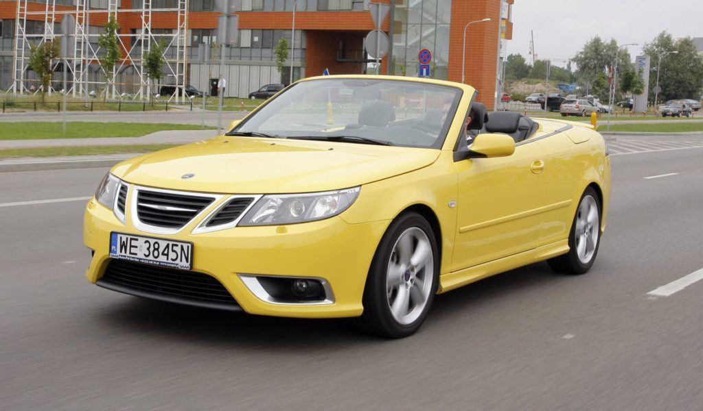 Saab 9-3 Cabrio - dynamiczne