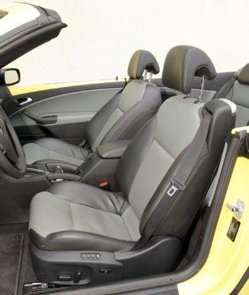 Saab 9-3 Cabrio - fotel kierowcy