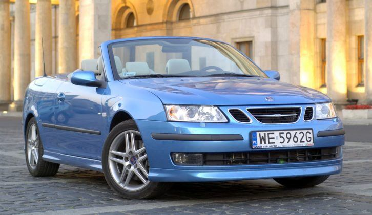 Saab 9-3 Cabrio - przedlift