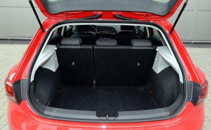 Seat Leon III - bagażnik