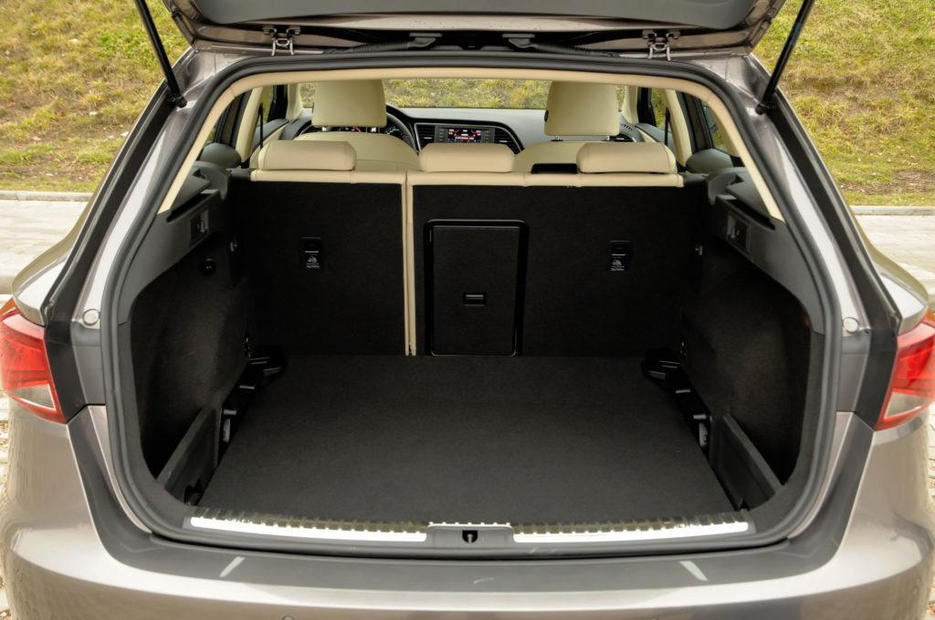 Seat Leon III - bagażnik kombi
