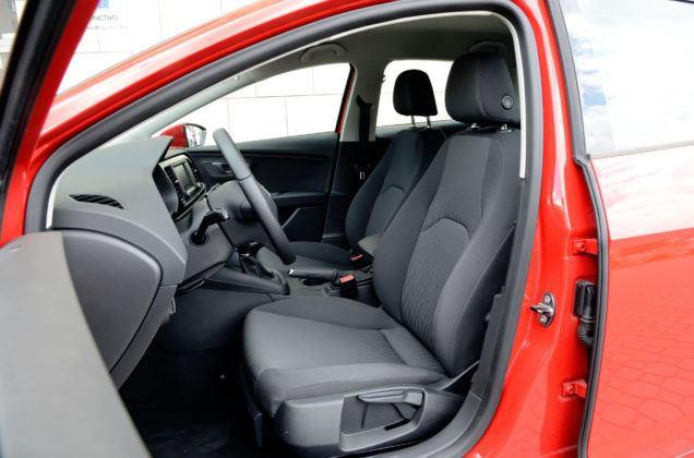 Seat Leon III - fotel kierowcy