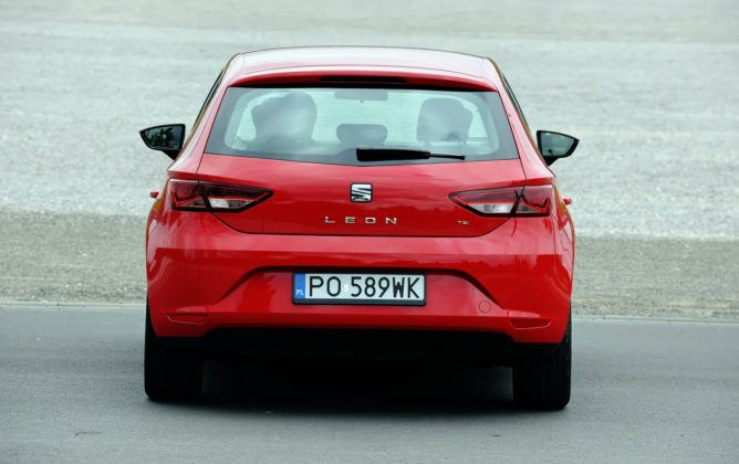 Seat Leon III - tył