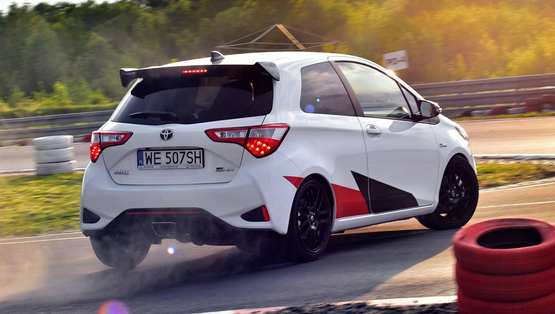 Toyota Yaris GRMN na torze Słomczyn