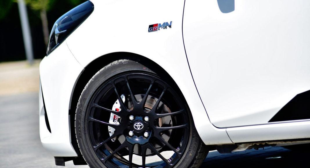Toyota Yaris GRMN - koło