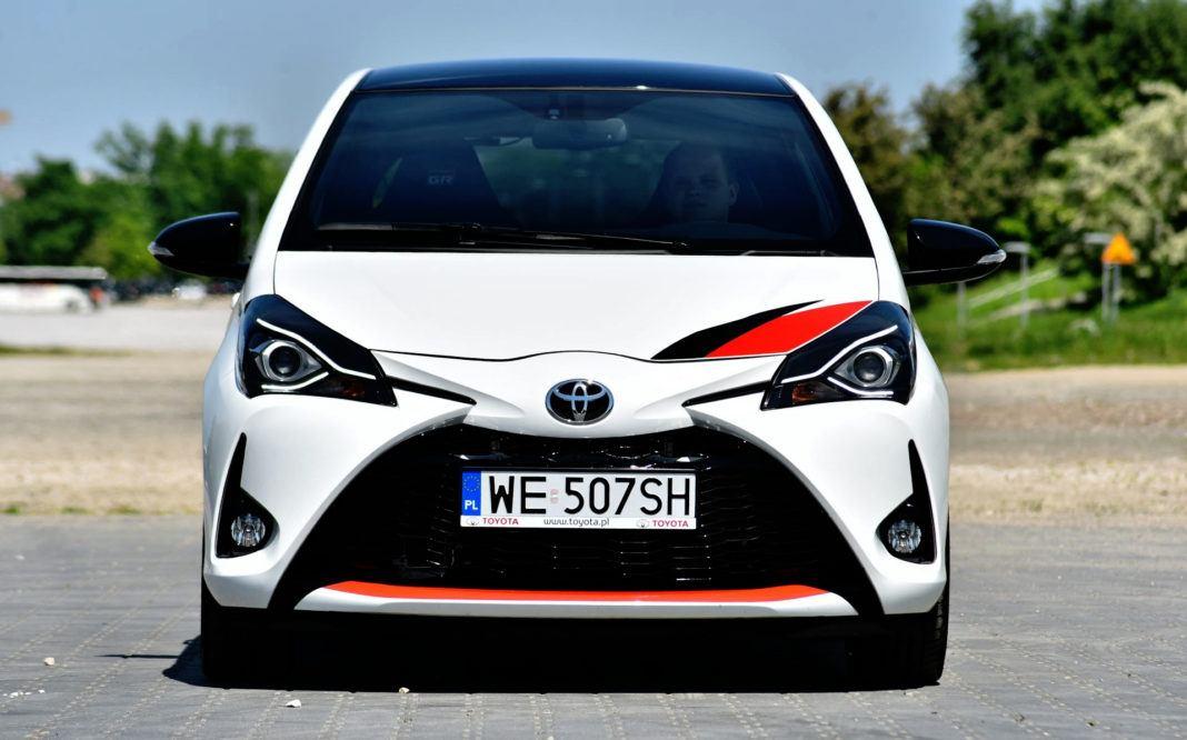 Toyota Yaris GRMN - przód