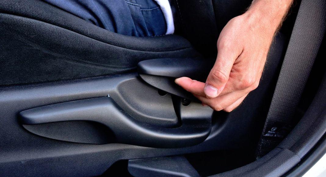 Toyota Yaris GRMN - regulacja fotela