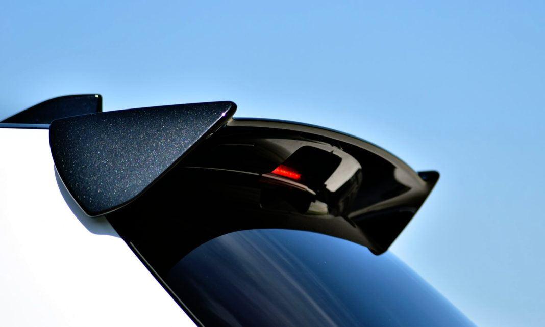 Toyota Yaris GRMN - spojler
