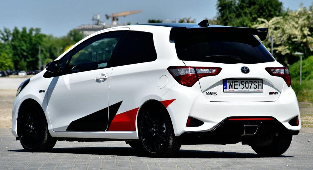 Toyota Yaris GRMN - tył
