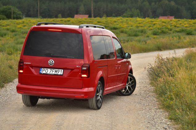 Volkswagen Caddy Beach - tył