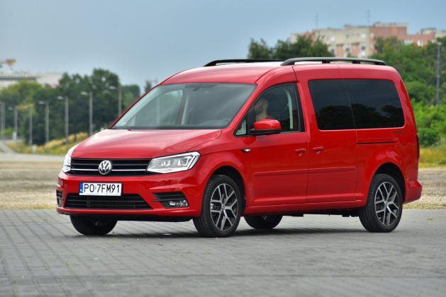 Volkswagen Caddy Beach - przód