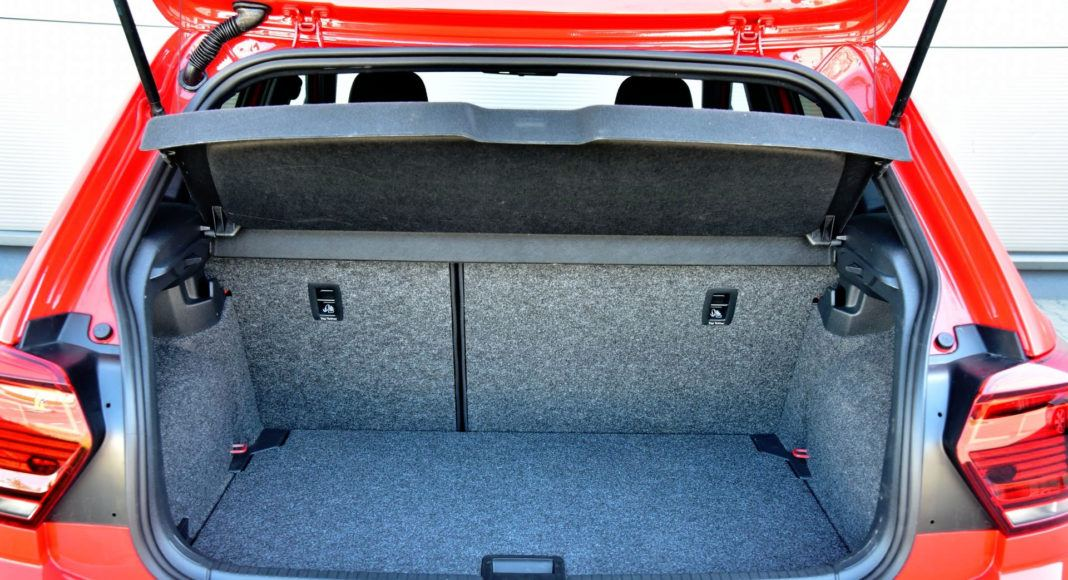 Volkswagen Polo GTI - bagażnik