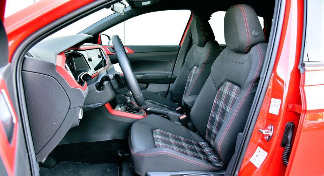 Volkswagen Polo GTI - fotel kierowcy