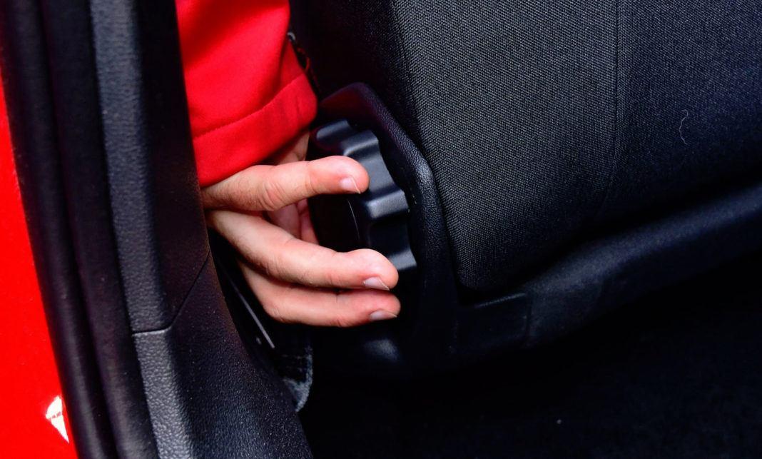 Volkswagen Polo GTI - regulacja fotela