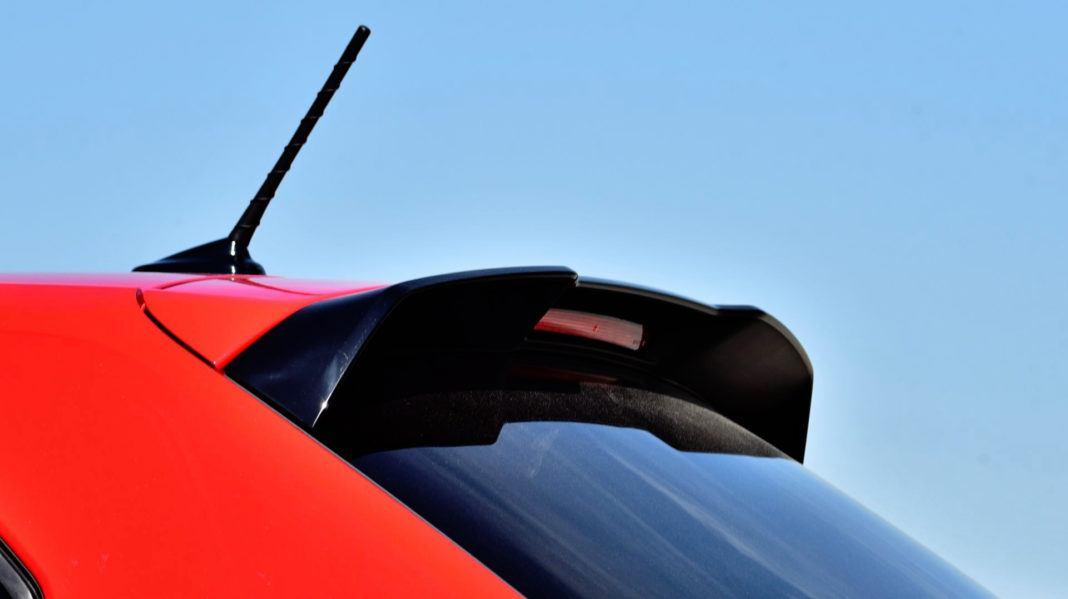 Volkswagen Polo GTI - spojler