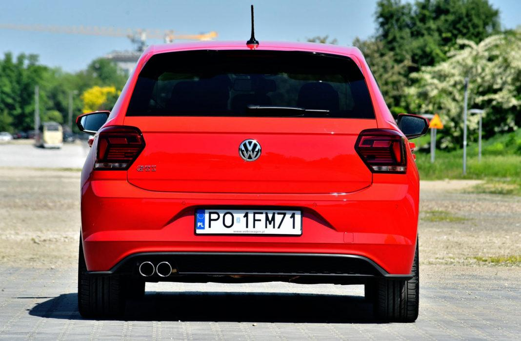 Volkswagen Polo GTI - tył