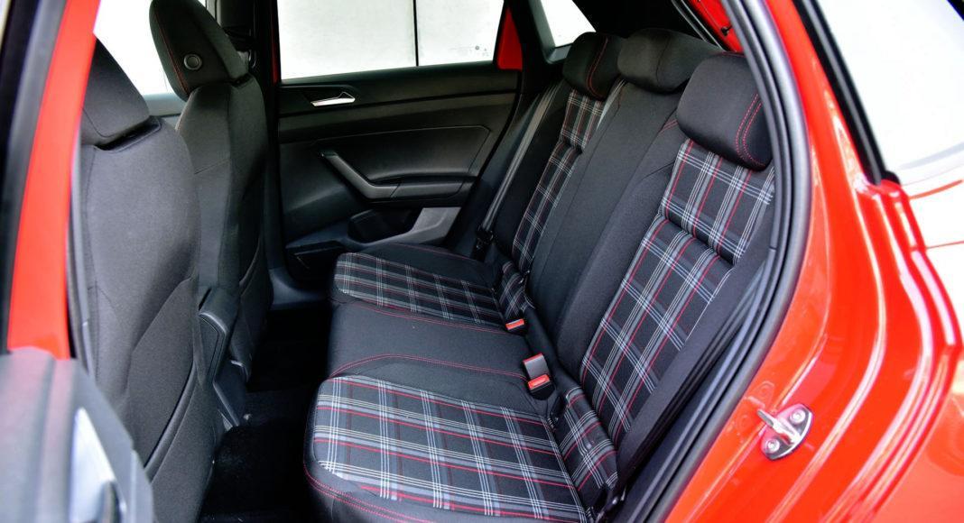 Volkswagen Polo GTI - tylna kanapa