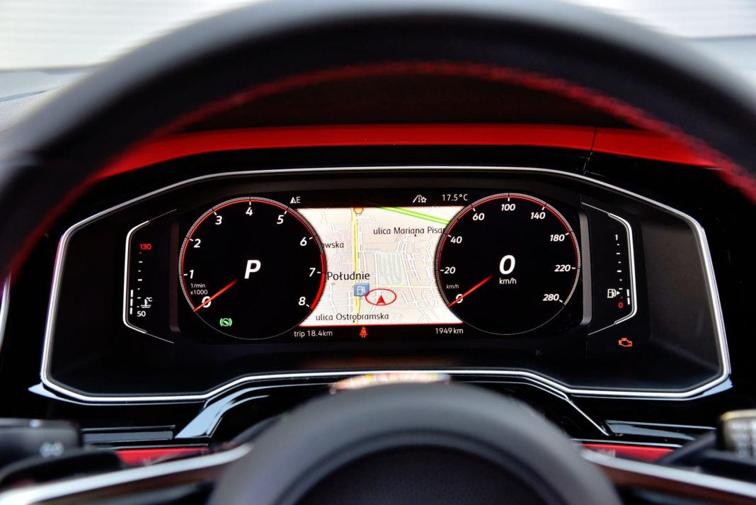 Volkswagen Polo GTI - zegary (2)