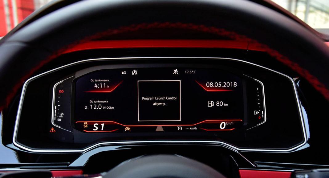 Volkswagen Polo GTI - zegary (4)
