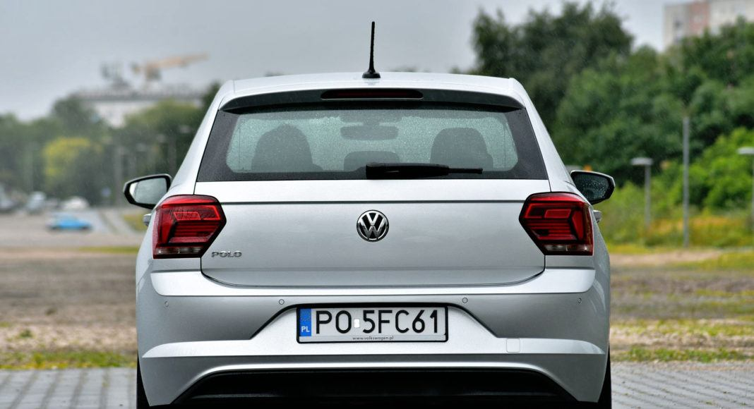 Volkswagen Polo - tył