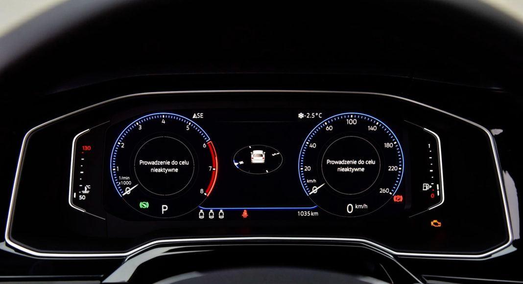 Volkswagen Polo - zegary