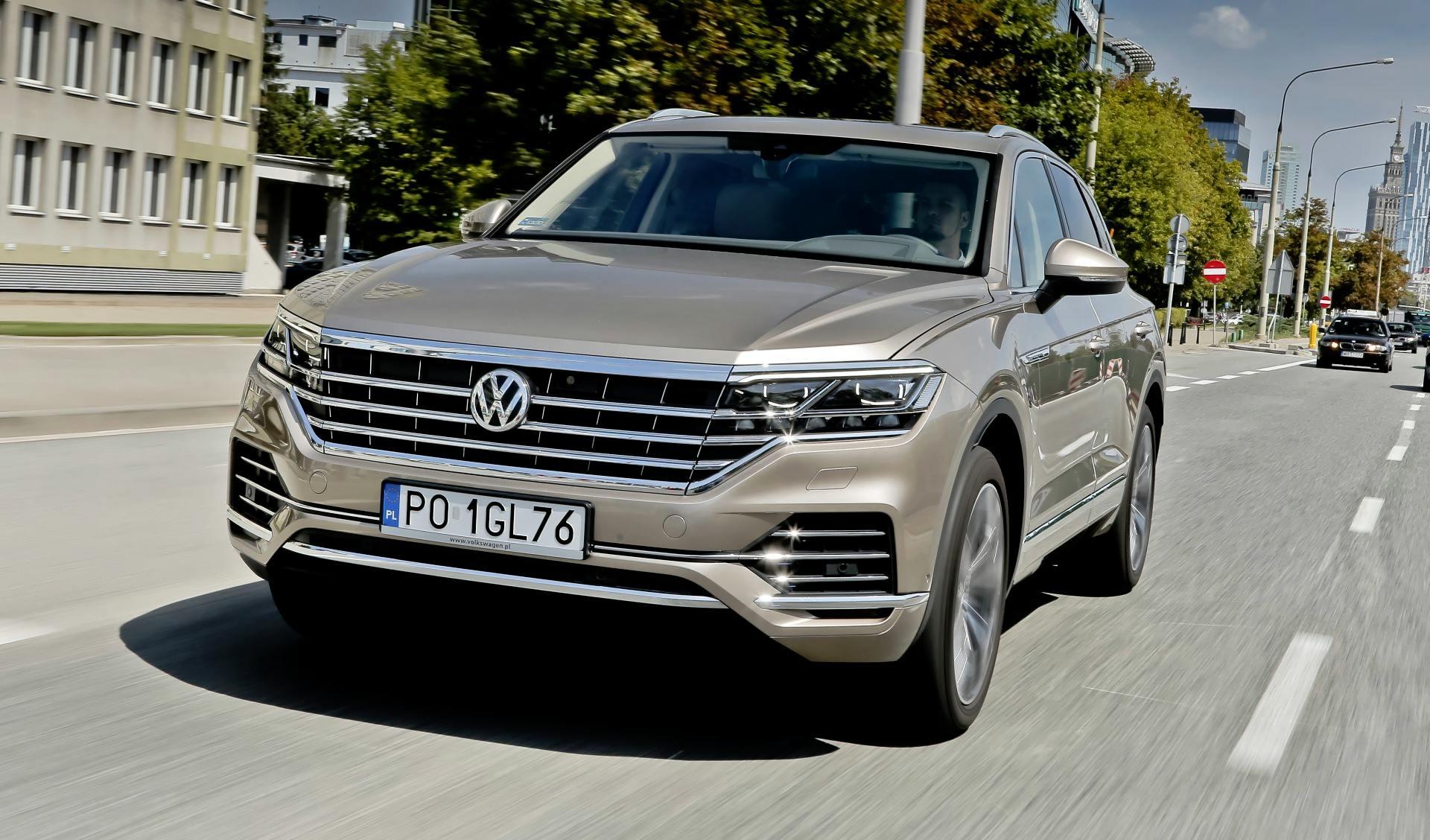 Volkswagen Touareg - dynamiczne