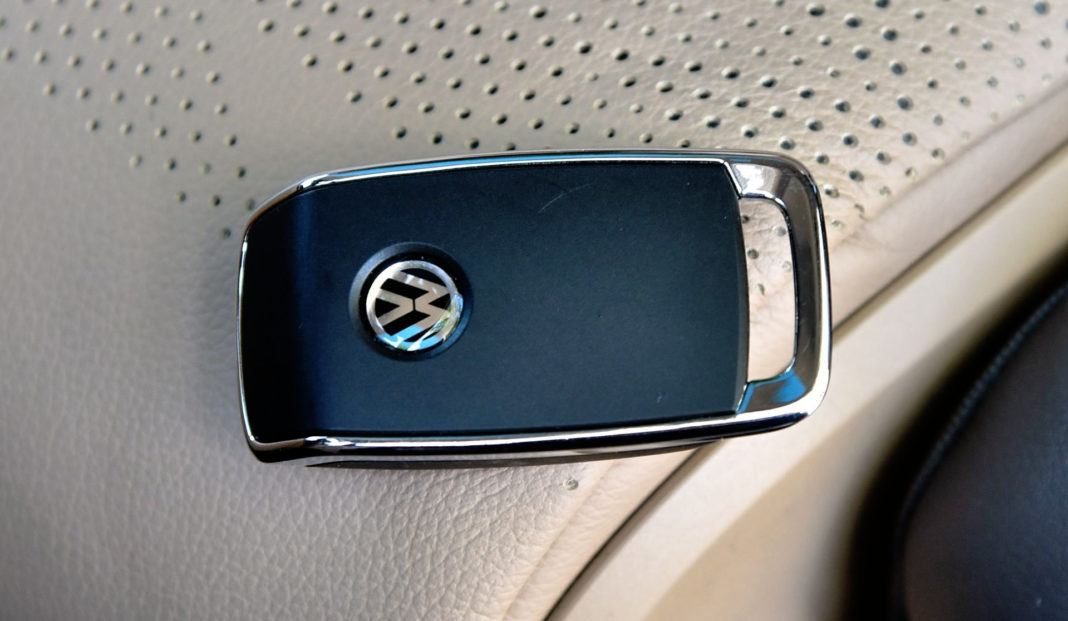 Volkswagen Touareg - kluczyk