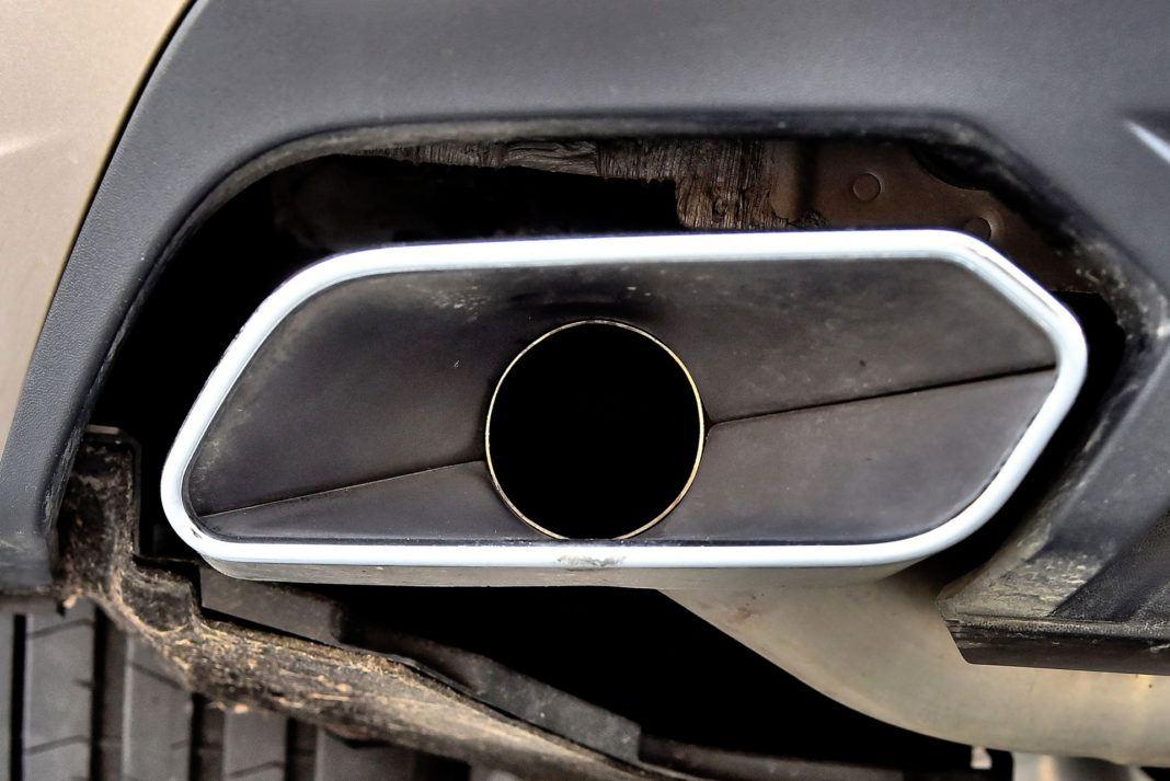 Volkswagen Touareg - końcówka tłumika