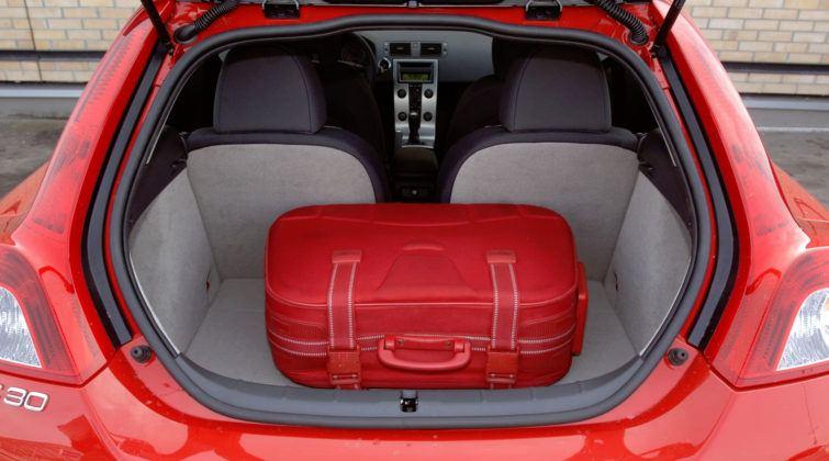 Volvo C30 - bagażnik