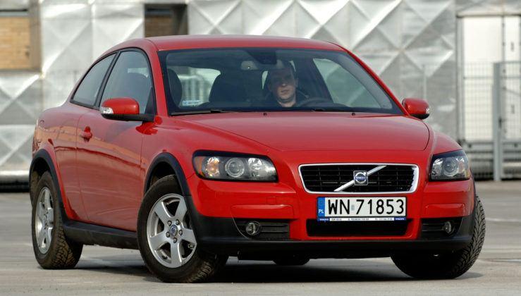 Volvo C30 - przód