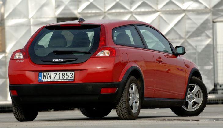 Volvo C30 - tył